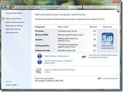 VM Windows Index
